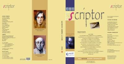 Coperta revista Scriptor 2015